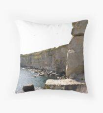 Purbeck Coast No.4 Throw Pillow
