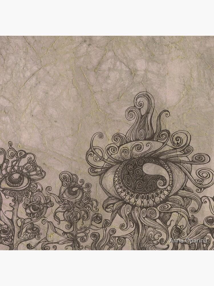 Strange Eyes by Oparina