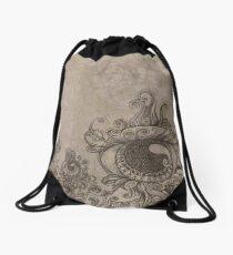 Strange Eyes Drawstring Bag
