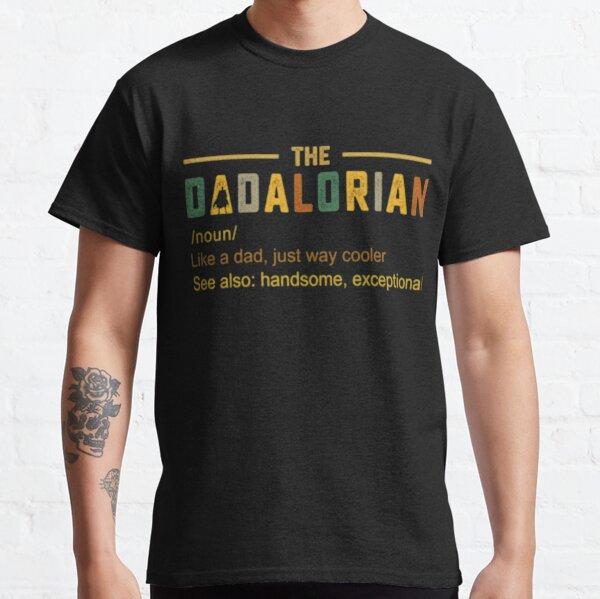 Der Dadalorian Herren Vintage Dad Just Way Cooler Classic T-Shirt