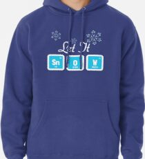 Sudadera con capucha Let It Snow Science