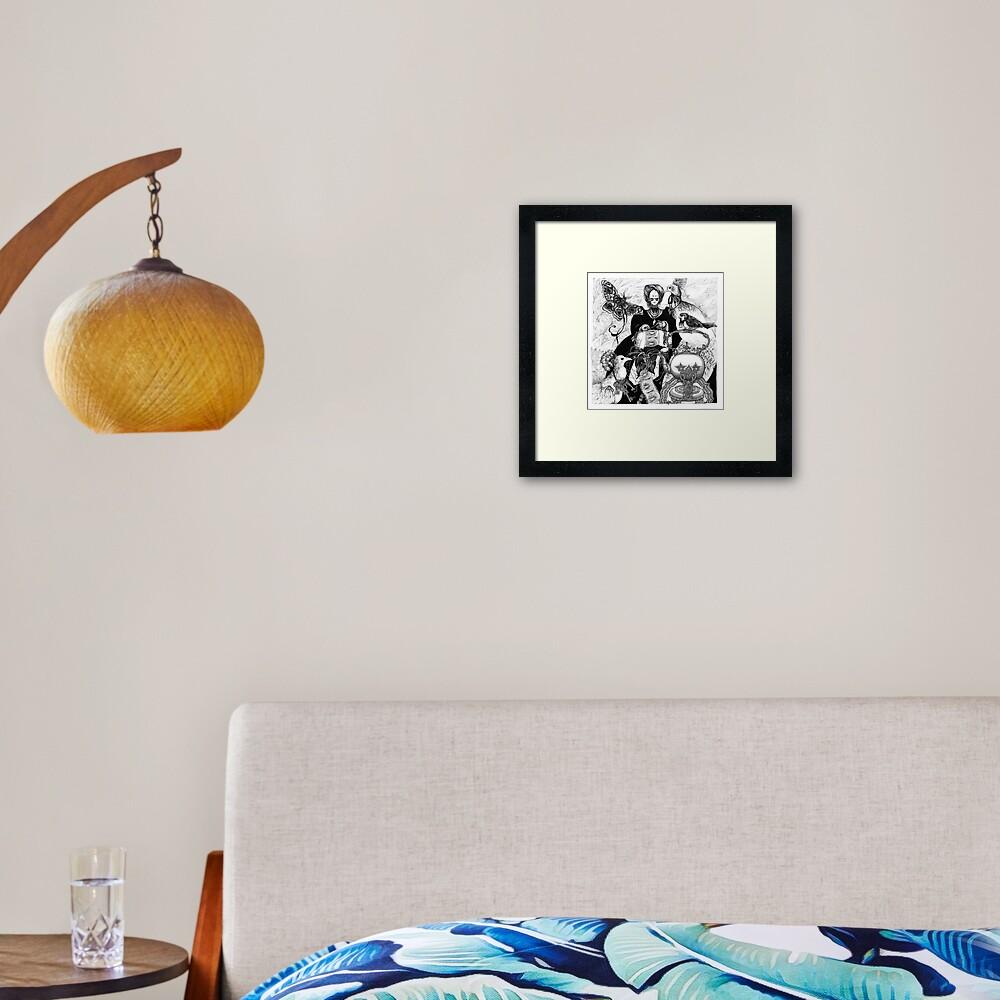 Lacemaker Framed Art Print