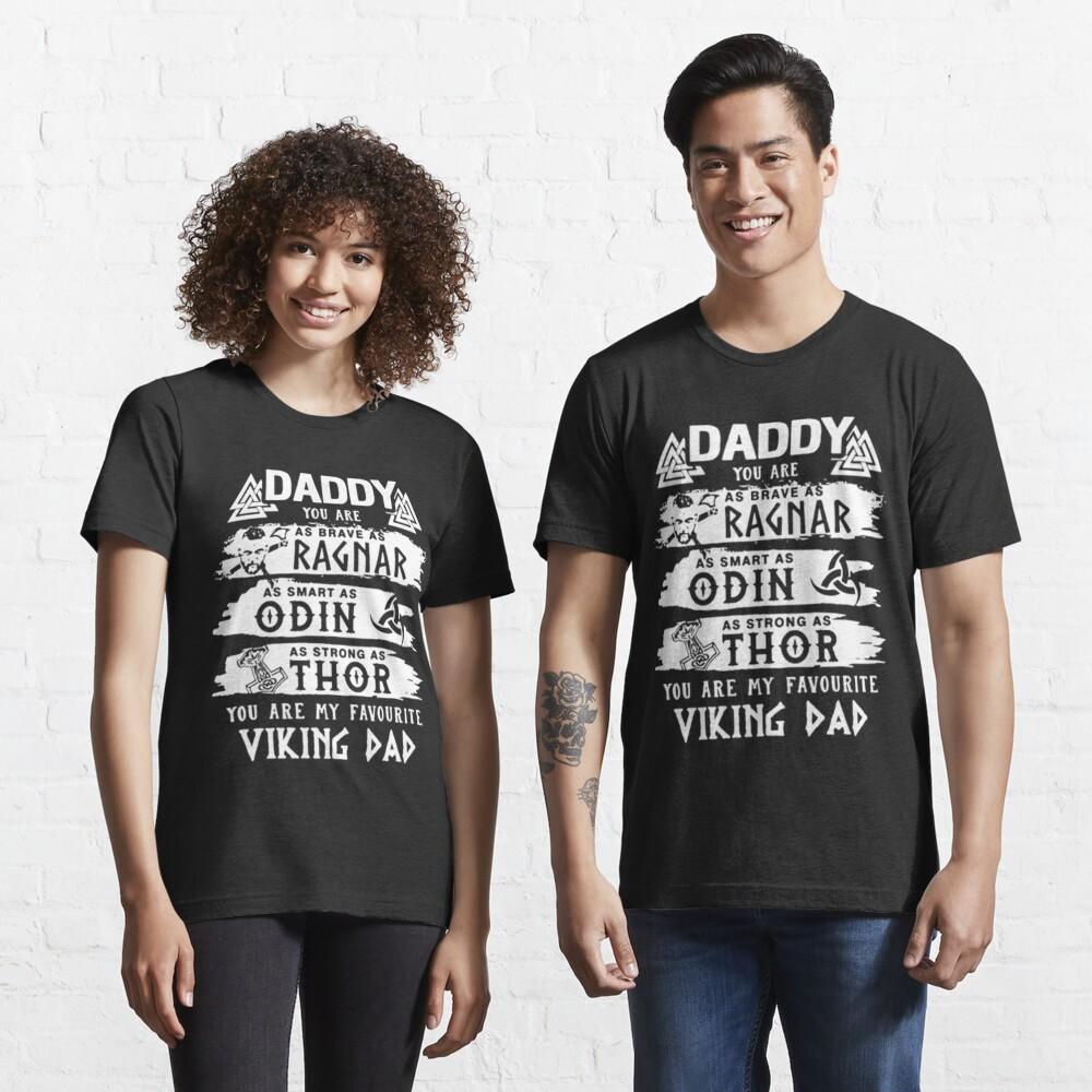 Papa votre comme Brave comme le Capt Kirk Star Trek Pères Jour Adulte T Shirt