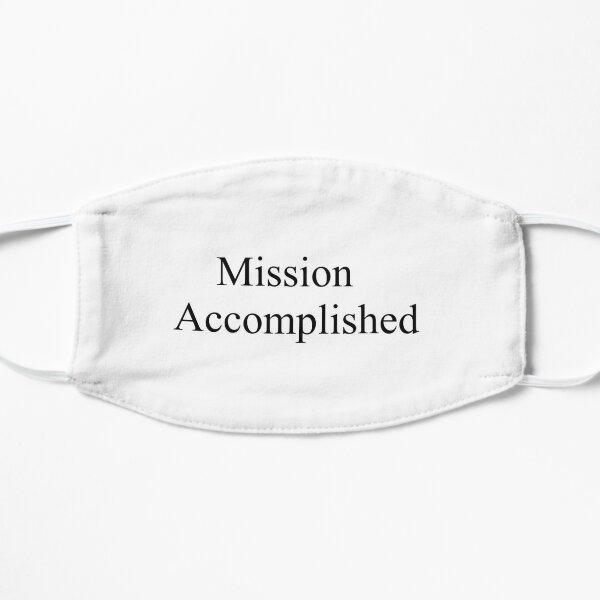 Mission Accomplished Small Mask
