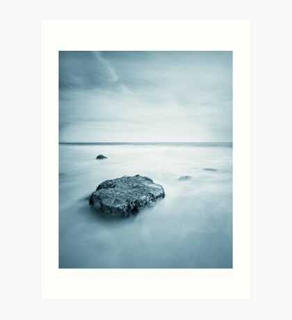 Silky Smooth Sea Art Print
