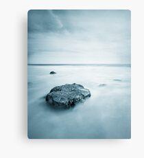 Silky Smooth Sea Metal Print