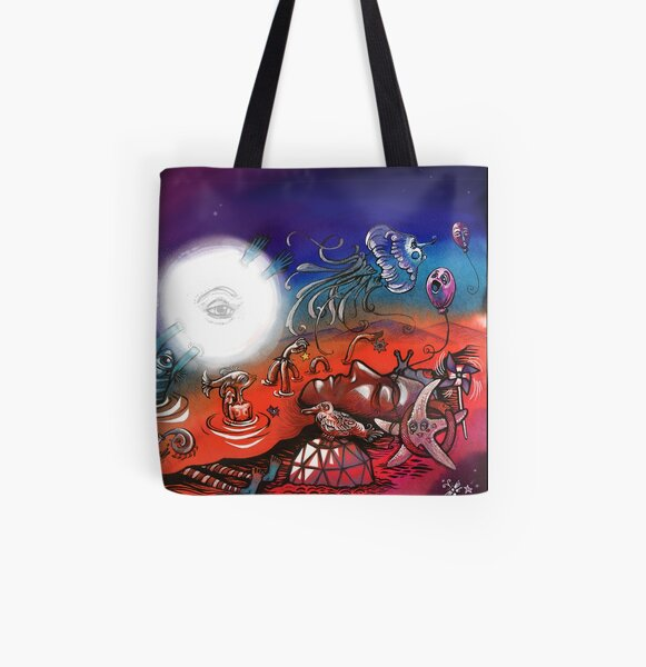 Beach Party All Over Print Tote Bag