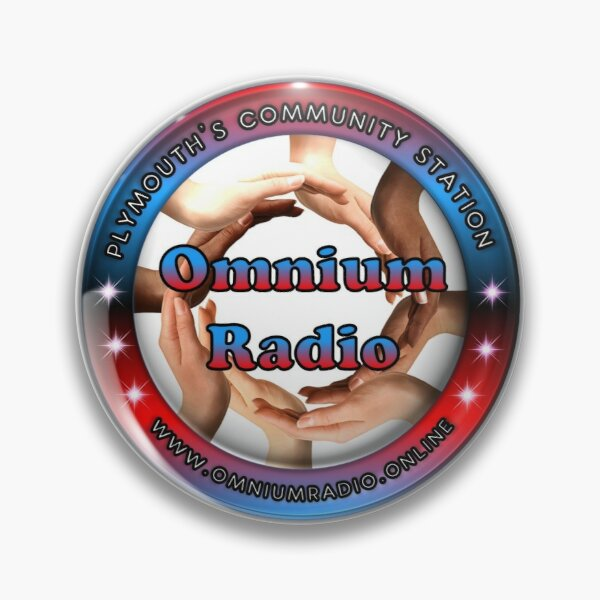 Omnium Radio Logo Pin