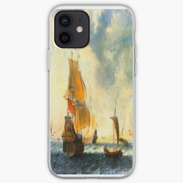Old Dutch Sailing Ships iPhone Soft Case