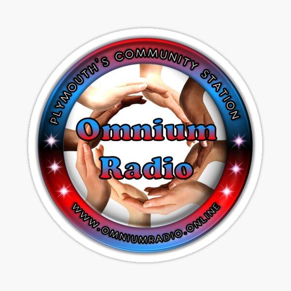 Omnium Radio Logo Sticker