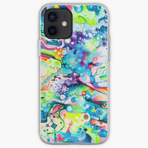 Parts of Reality Were Missing, But Which Parts? - Watercolor Painting iPhone Soft Case