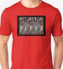 Zebra Christmas Unisex T-Shirt