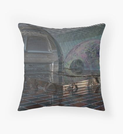 Spectres // The Equivalent Throw Pillow