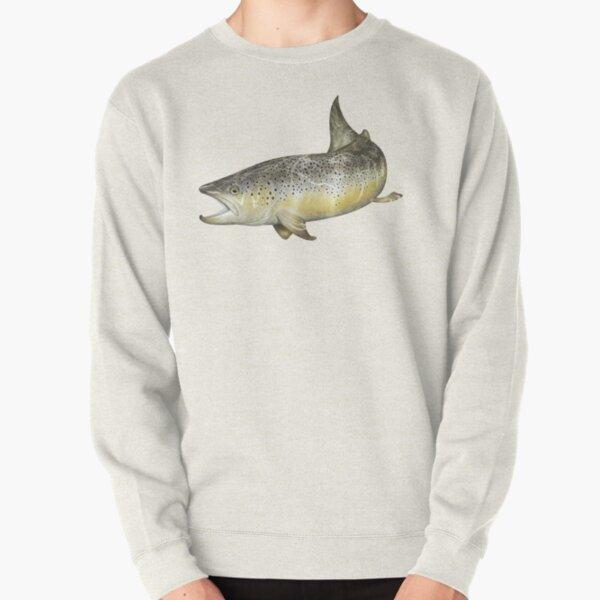 Brown Trout Pullover Sweatshirt