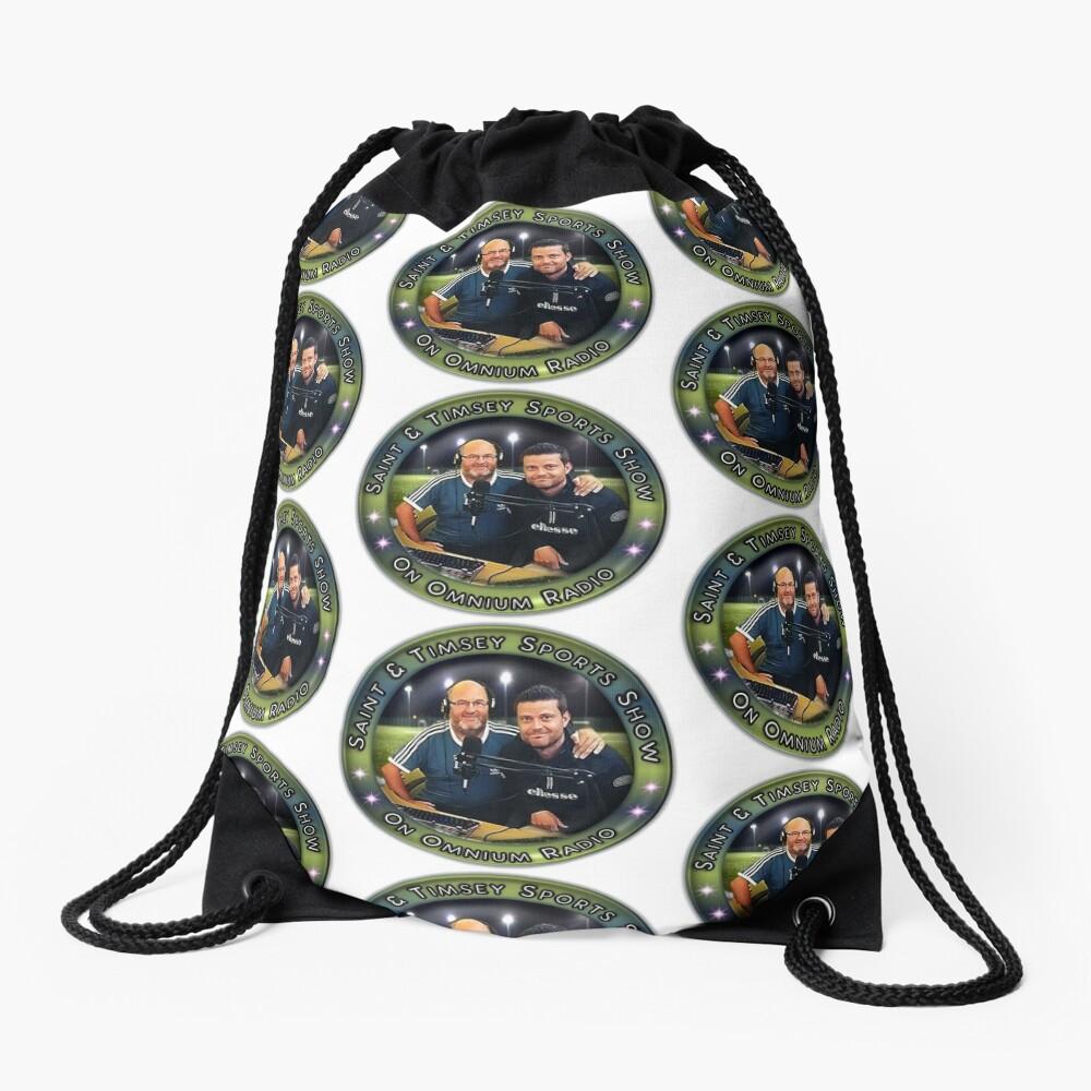 Saint & Timmsy Sports Show Drawstring Bag