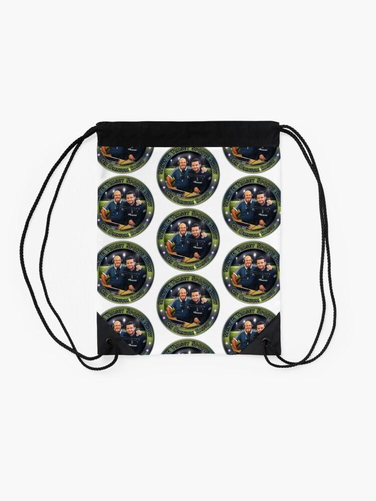 Alternate view of Saint & Timmsy Sports Show Drawstring Bag