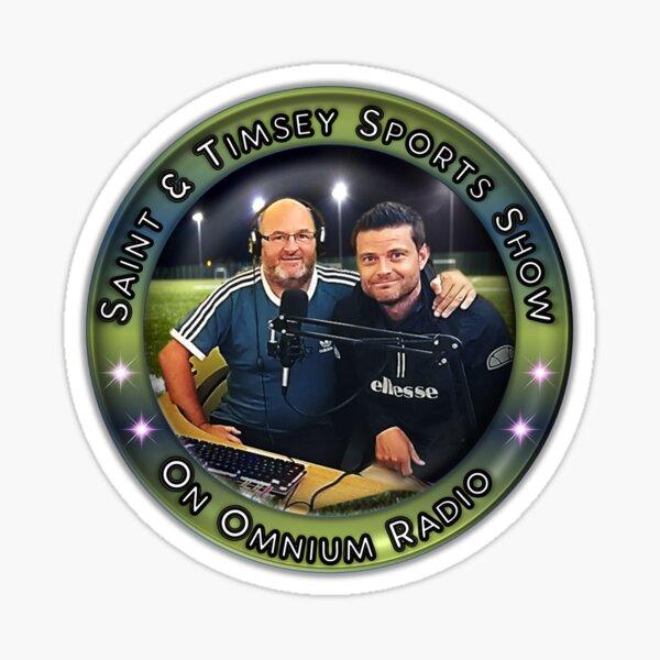 Saint & Timmsy Sports Show Sticker