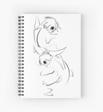 Koi Spiral Notebook