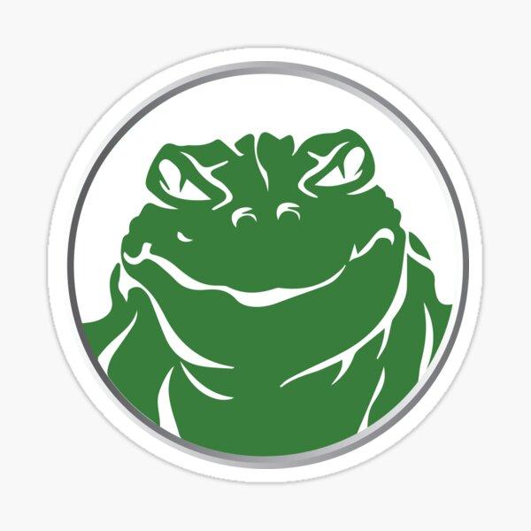 Frog God Games Wear Sticker