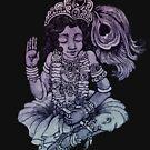 Krishna by Anna Oparina