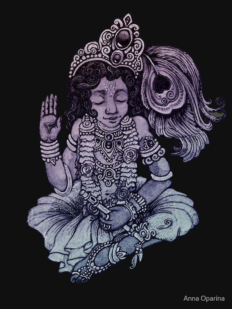 Krishna by Oparina