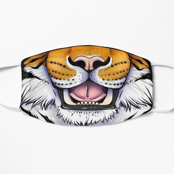 Tiger Grin Flat Mask