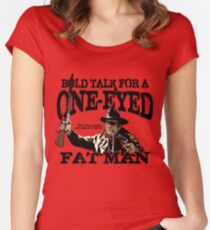 """One Eyed Fat Man"" Women's Fitted Scoop T-Shirt"