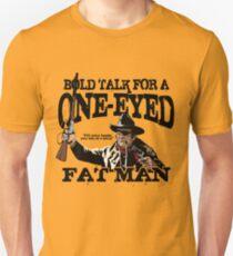 """""""Ein Augen dicker Mann"""" Slim Fit T-Shirt"""
