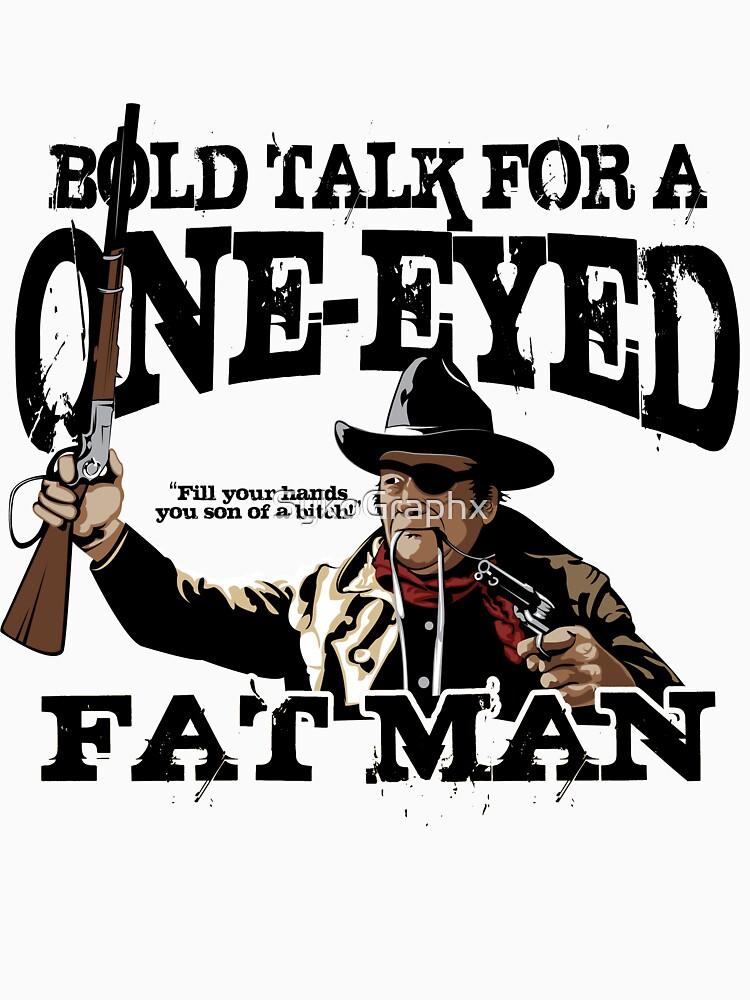 """""""Ein Augen dicker Mann"""" von SykoGraphx"""