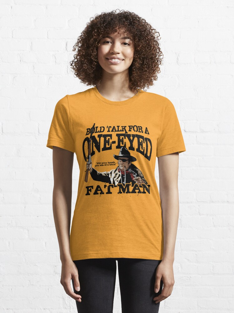 """Alternate view of """"One Eyed Fat Man"""" Essential T-Shirt"""