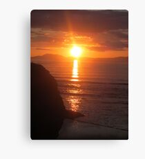 Donegal Sunset 8 Canvas Print