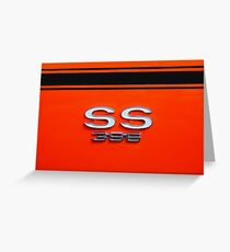 Chevy Super Sport 396 Greeting Card