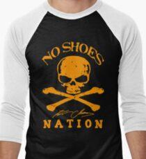 No Shoes Nation Kenny Chesney RBB02 Men's Baseball ¾ T-Shirt