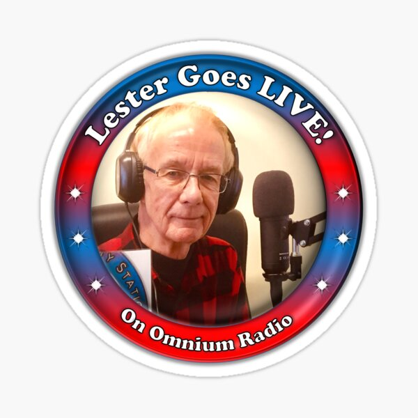 Lester Goes LIVE Sticker