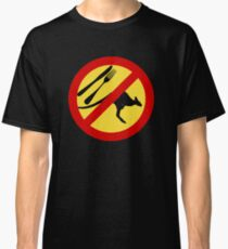 Don't eat Kangaroos (yellow) Classic T-Shirt