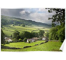 Kettlewell With Wharfdale Beyond Poster