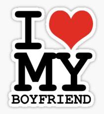 I Love My Girlfriend Stickers Redbubble