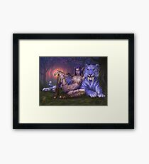 Night Elf  Framed Print