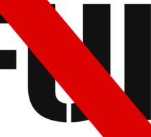 Say No to Fur Sticker