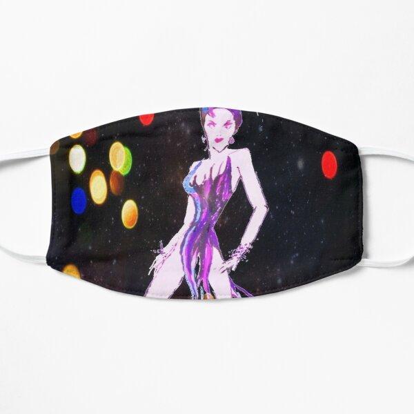 The Ferocity of a Showgirl  Flat Mask