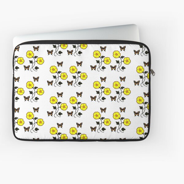 Joy of Nature in Yellow Laptop Sleeve
