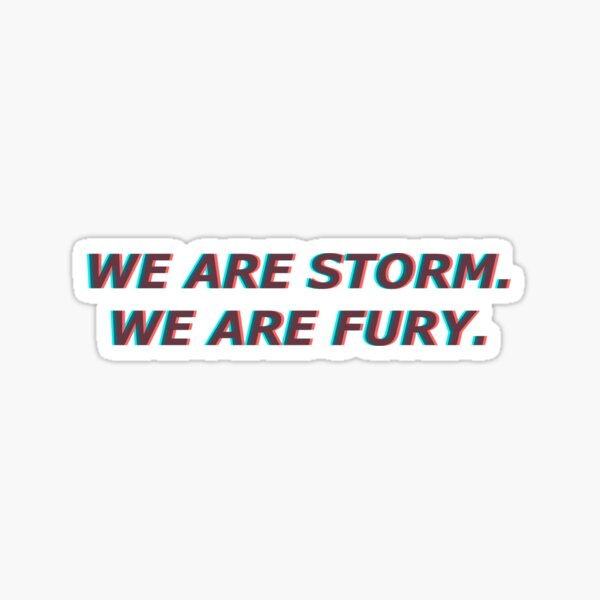 Storm and Fury | Abigail Bellweather | Raelle Collar | Tally Craven | Scylla Ramshorn | Motherland Fort Salem Sticker