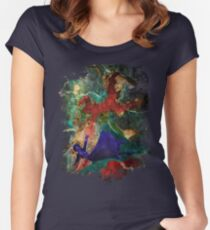 Bioshock Infinite Falling Women's Fitted Scoop T-Shirt