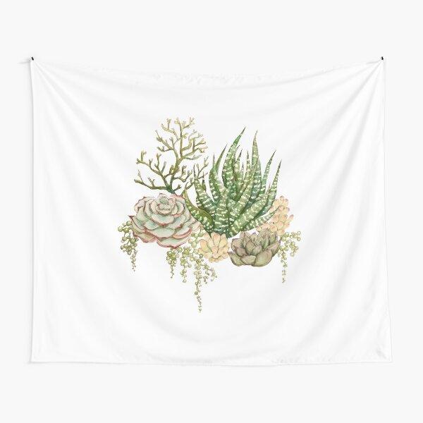 Succulent Bouquet Tapestry