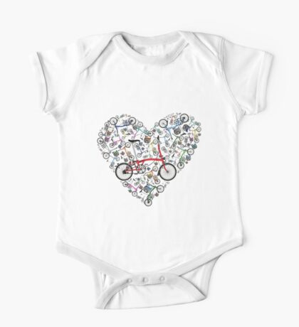 I Love Brompton Bikes Kids Clothes