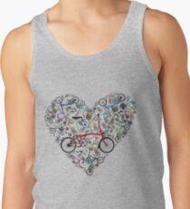 I Love Brompton Bikes Tank Top