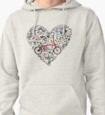 I Love Brompton Bikes Pullover Hoodie