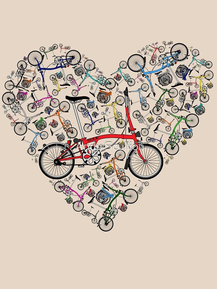 I Love Brompton Bikes | Unisex T-Shirt