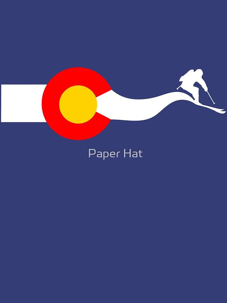 TShirtGifter presents: Ski Colorado Flag | Unisex T-Shirt