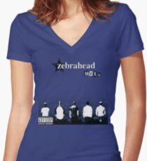 Zebrahead- MFZB Album Cover Shirt Women's Fitted V-Neck T-Shirt